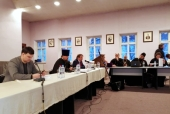 В Андреевском монастыре обсудили проблемы подготовки церковных специалистов