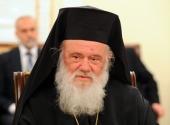 Поздравление Святейшего Патриарха Кирилла Блаженнейшему Архиепископу Иерониму с годовщиной избрания на Престол Архиепископов Афинских и всей Эллады