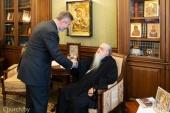 Состоялась встреча митрополита Филарета (Вахромеева) и посла Польши в Белоруссии Артура Михальского