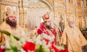 Блаженнейший Митрополит Ростислав совершил Литургию на подворье Православной Церкви Чешских Земель и Словакии в Москве