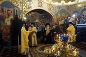 В Нижегородском Вознесенском Печерском монастыре почтили память великого архидиакона Константина Розова