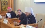 """Cuvântul de salut al mitropolitului de Volokolamsk Ilarion la deschiderea conferinței """"Decesul și decedarea în societatea tehnologică: între biomedicină și duhovnicitate"""""""