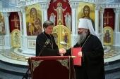 Состоялся визит и.о. председателя Синодального отдела по делам молодежи в Екатеринбургскую епархию