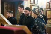 В праздник Трех святителей Литургии на греческом языке совершались в духовных школах Русской Православной Церкви