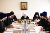 Митрополит Ростовский Меркурий возглавил заседание Архиерейского совета Донской митрополии