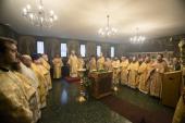 Глава Патриаршего экзархата в Западной Европе возглавил торжества престольного праздника Трехсвятительского кафедрального храма в Париже