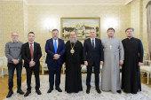 Глава Казахстанского митрополичьего округа встретился с Генеральным консулом Франции в Алма-Ате