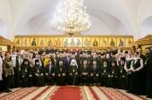 Патриарший экзарх всея Беларуси возглавил торжества по случаю актового дня Минской духовной семинарии