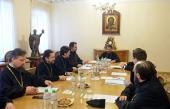 В ОВЦС прошло заседание Межведомственной координационной группы по теологии