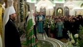 Слово Святейшего Патриарха Кирилла в канун праздника Сретения Господня