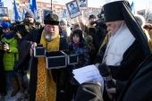 В Москве заложен храм ветеранских организаций участников боевых действий