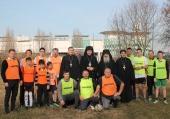 Președintele Comisiei Patriarhului în probleme de cultură fizică și sport a efectuat o viziă de lucru în Italia