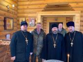 Председатель Синодального отдела по взаимодействию с Вооруженными силами посетил воинские части Балтийского флота