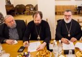 A avut loc ședința comitetului organizatoric pentru pregătirea către sărbătorirea aniversării a 70 de ani de la adormirea Cuviosului Serafim de Vyritsa