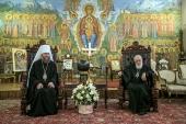 Управляющий делами Украинской Православной Церкви встретился с Патриархом Грузии Илией ІІ