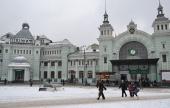 По всем железнодорожным вокзалам Москвы прошел крестный ход