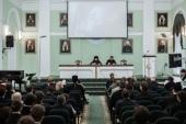 В Санкт-Петербургской духовной академии прошли мероприятия, направленные на укрепление межвузовского сотрудничества