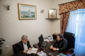 Епископ Барышевский Виктор сообщил директору правозащитной организации Human Rights Without Frontiers о нарушении прав верующих на Украине