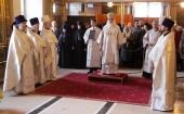 В день 90-летия со дня рождения Святейшего Патриарха Алексия II в Богоявленском кафедральном соборе в Москве была совершена панихида