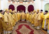 Патриарший экзарх всея Беларуси возглавил торжества по случаю празднования 180-летия Полоцкого Собора