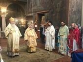 Иерархи Русской и Болгарской Православных Церквей совершили Божественную литургию в Велико Тырново