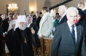 Митрополит Таллинский Евгений принял участие в торжествах по случаю Дня независимости Эстонии