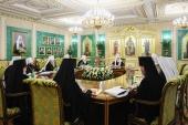 В Москве прошло первое в этом году заседание Священного Синода Русской Православной Церкви
