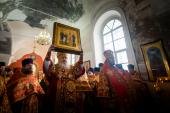 В Елабуге состоялось прославление в лике святых протоиерея Павла Дернова и трех его сыновей