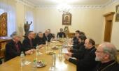 Председатель ОВЦС встретился с главой Евангелическо-лютеранской церкви Финляндии