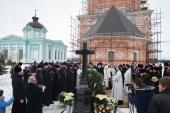 В Бобреневом монастыре в Подмосковье в годовщину преставления архиепископа Григория (Чиркова) молитвенно почтили его память