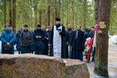 Память репрессированных выпускников Санкт-Петербургской духовной академии почтили в храме на Левашовской пустоши