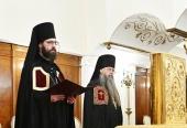 Слово архимандрита Саввы (Тутунова) при наречении во епископа Зеленоградского