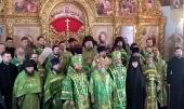 В день памяти блаженной Варвары Скворчихинской архиереи Башкортостанской митрополии освятили храм в ее честь