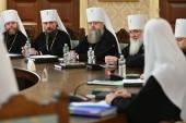 Πρώτη συνεδρία του Ανώτατου Εκκλησιαστικού Συμβουλίου διά το έτος 2019 υπό την προεδρία του Αγιωτάτου Πατριάρχη Κυρίλλου