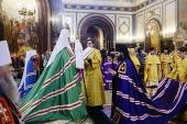 Слово Святейшего Патриарха Кирилла при вручении архиерейского жезла Преосвященному Савве (Тутунову), епископу Зеленоградскому