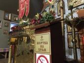 Украдены пожертвования из храма Украинской Православной Церкви в Ужгороде