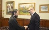 Состоялась встреча митрополита Волоколамского Илариона с македонским послом в России