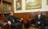Председатель ОВЦС встретился с новоназначенным послом Эфиопии в России