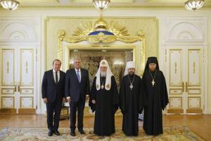 Святейший Патриарх Кирилл встретился с президентом Евангелистской ассоциации Билли Грэма Ф. Грэмом