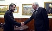 Председатель ОВЦС встретился с главой российского Представительства Лиги арабских государств
