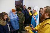 Глава Омской митрополии освятил храм в здании железнодорожного вокзала Омска
