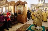 В Неделю сыропустную Святейший Патриарх Кирилл освятил московский храм Сорока Севастийских мучеников в Спасской Слободе