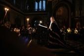 Проповедь Святейшего Патриарха Кирилла после великого повечерия в понедельник первой седмицы Великого поста в Храме Христа Спасителя