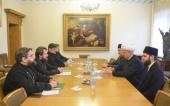 Митрополит Волоколамский Иларион встретился с председателем Духовного собрания мусульман России