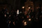 Проповедь Святейшего Патриарха Кирилла после великого повечерия во вторник первой седмицы Великого поста в Богоявленском кафедральном соборе г. Москвы