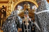 Проповедь Святейшего Патриарха Кирилла в пятницу первой седмицы Великого поста после Литургии в Троице-Сергиевой лавре