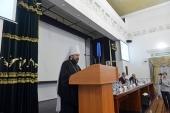 Митрополит Волоколамский Иларион выступил на международной научной конференции «Диалог культур и цивилизаций»