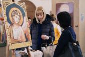 В Санкт-Петербургской епархии состоялась выставка студии христианского искусства