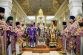 В день памяти архиепископа Луки (Войно-Ясенецкого) архипастыри Среднеазиатского митрополичьего округа совершили Литургию на месте служения святителя