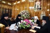 Состоялось первое в 2019 году заседание Синода Среднеазиатского митрополичьего округа